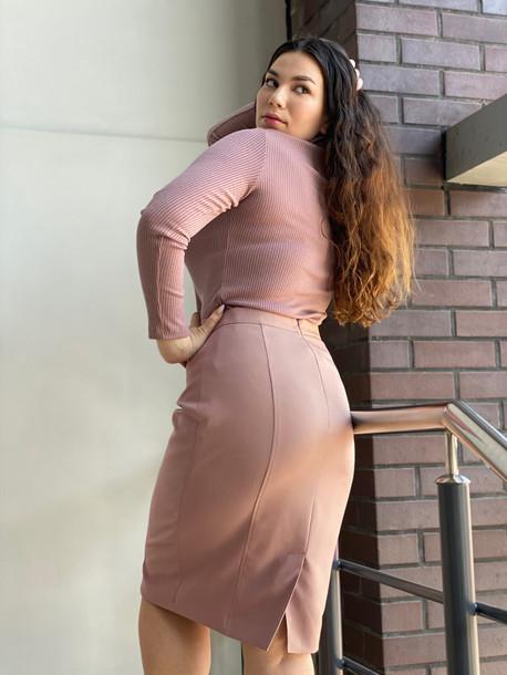 Дези юбка TRAND мокко