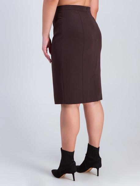 Дези юбка TRAND шоколад