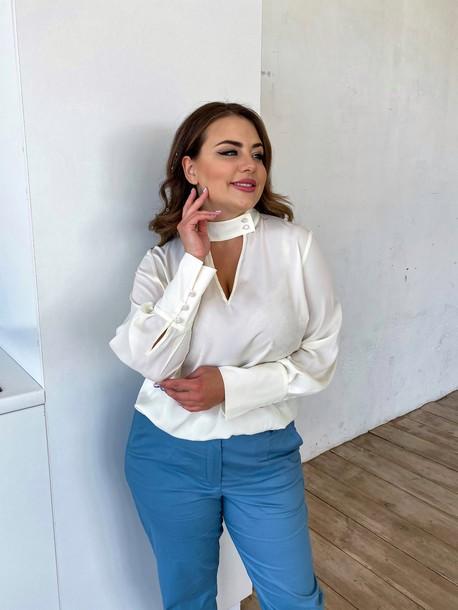 Брита блуза TRAND молоко