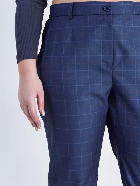 Джорди клетка брюки Trand синий