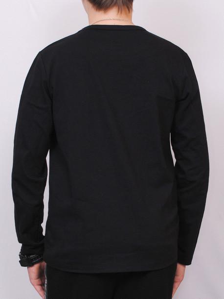 CROSS Junior футболка длинный рукав черный