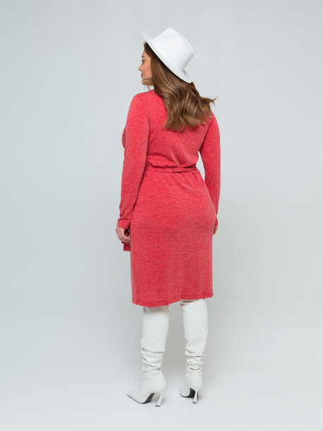 Фади меланж TRAND платье терракота