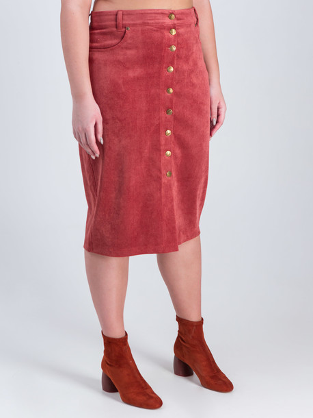 Ларго TRAND юбка охра