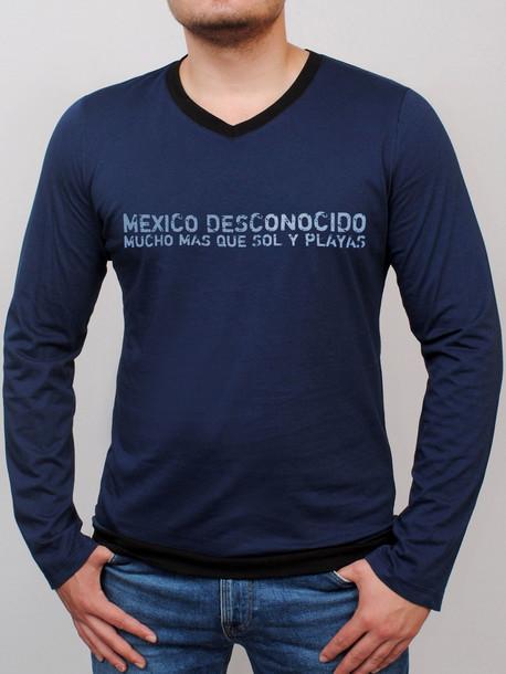 EL PASO футболка длинный рукав т.синий
