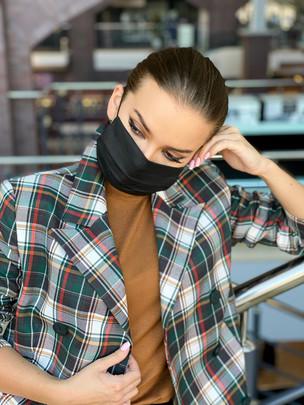 Strong маска защитная тканевая многоразовая оникс