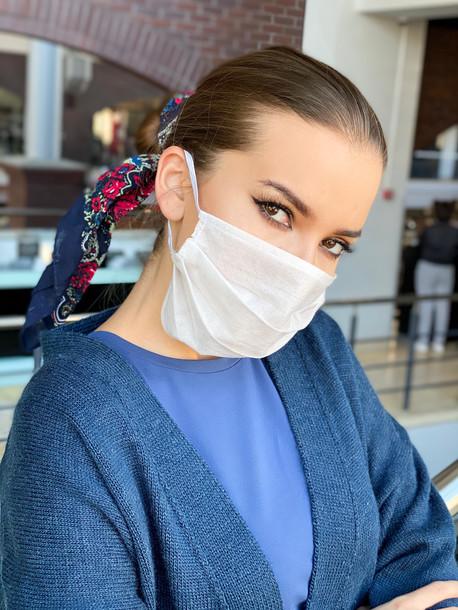 Care маска защитная медматериал (5 штук) белый