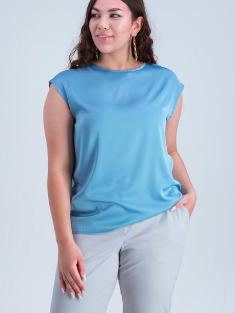 Ясмина TRAND блуза аквамарин
