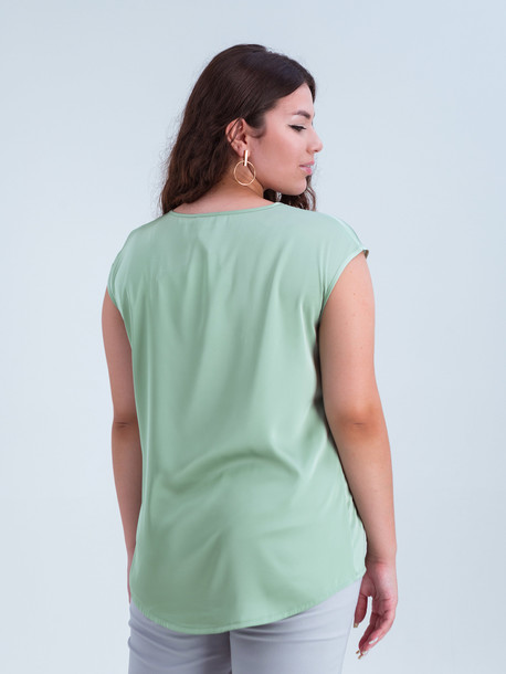 Ясмина TRAND блуза фисташковый