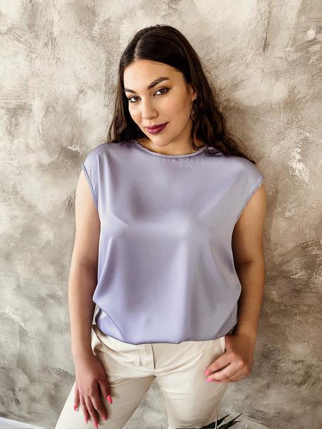 Ясмина TRAND блуза лаванда