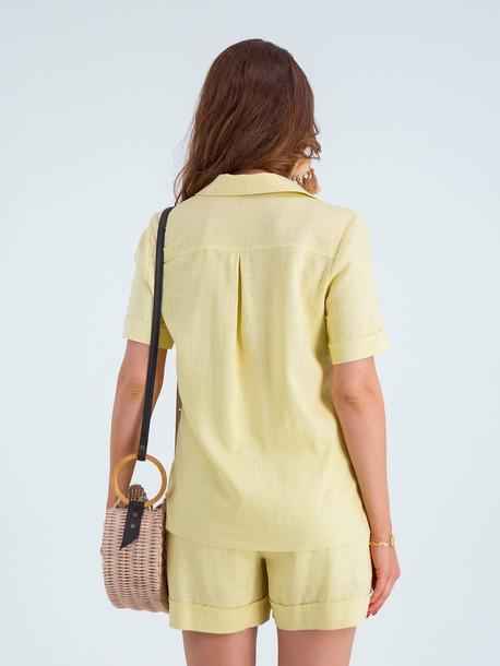 Леола Grand костюм желтый