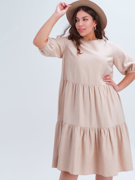 Жанин TRAND платье бежевый
