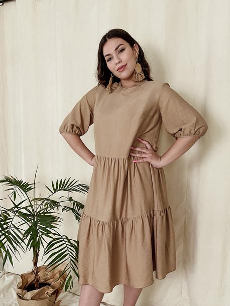 Жанин TRAND платье карамель