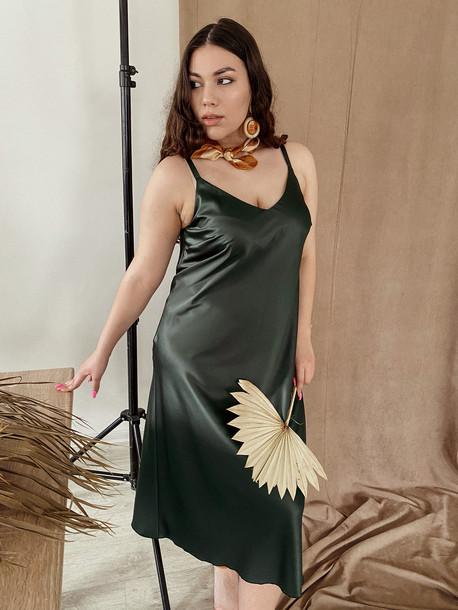 Армина TRAND платье малахит