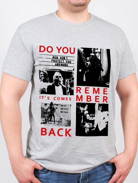 BIG MAFIA футболка меланж