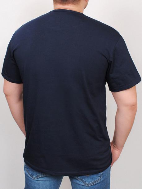 BIG MAFIA футболка т.синий
