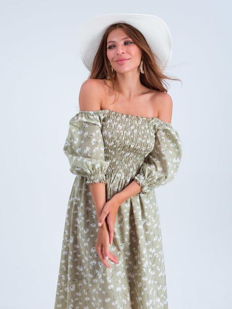 Авия платье ромашка