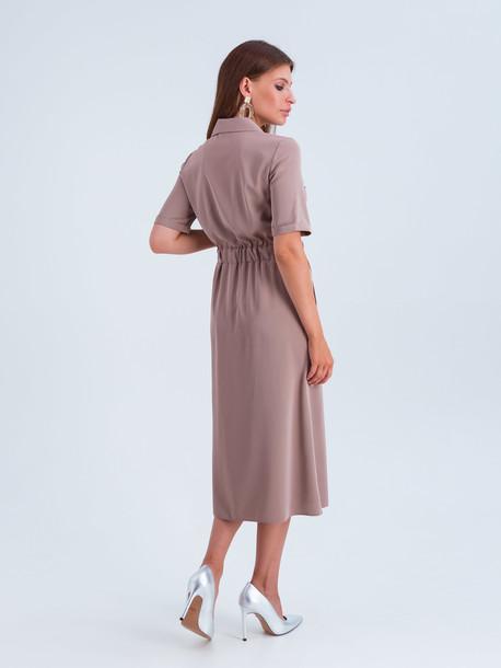 Мишель платье бежевый