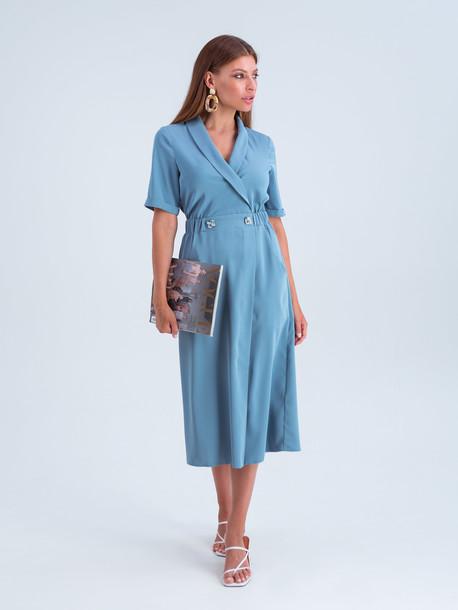 Мишель платье бирюза