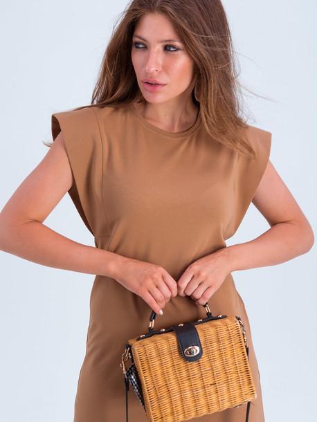 Канта платье бежевый