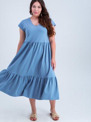 Венона TRAND платье джинс