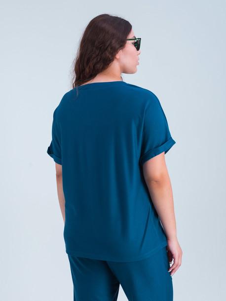 Глория TRAND футболка аквамарин