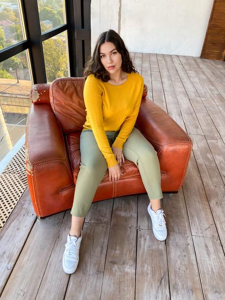 Беатрис TRAND джинсы хаки