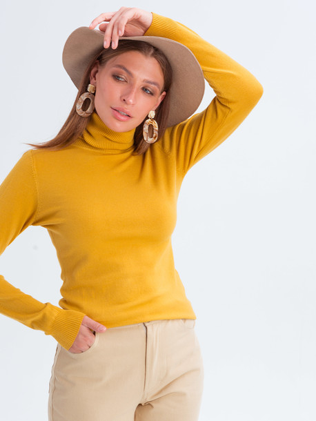 Беатрис джинсы удлиненные кэмел