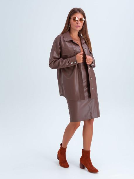 Гвенет  GRAND юбка шоколад