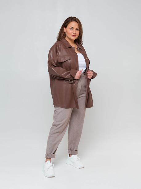 Аврил TRAND рубашка шоколад