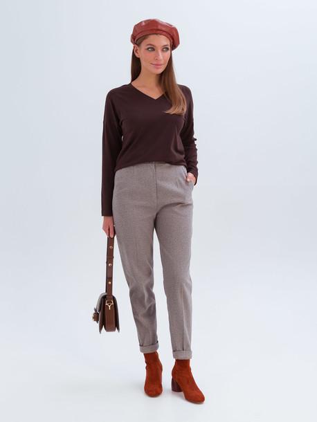 Элери брюки коричневый