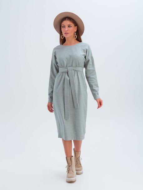 Мари платье светло-зеленый
