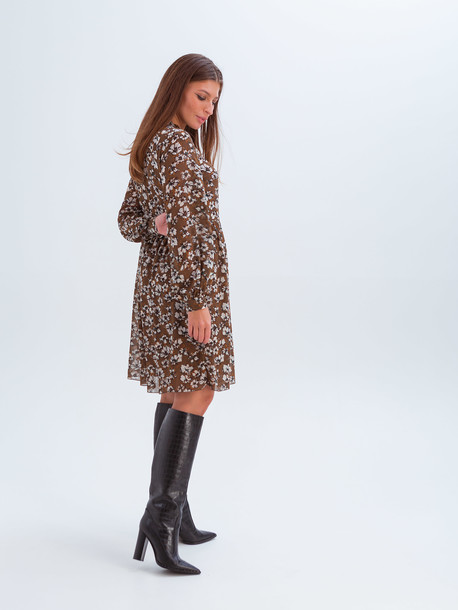 Эвелин платье ореховый