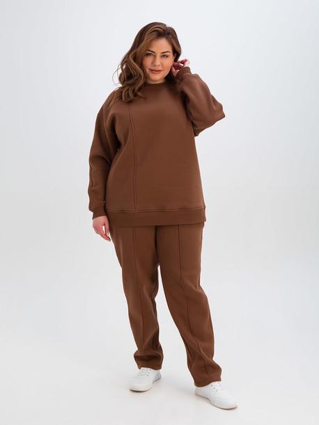 Анет TRAND брюки сепия