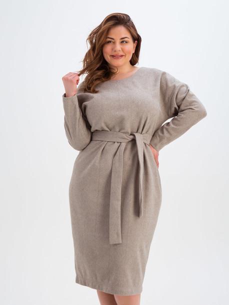 Мари TRAND платье песок