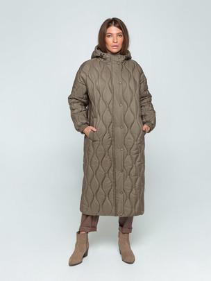 Вивиан пальто хаки