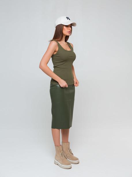 Ладья удлиненная юбка т.зеленый