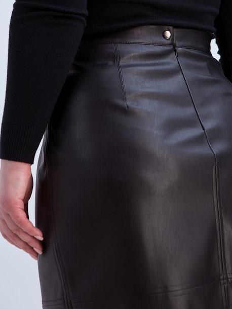 Ладья удлиненная TRAND юбка черный