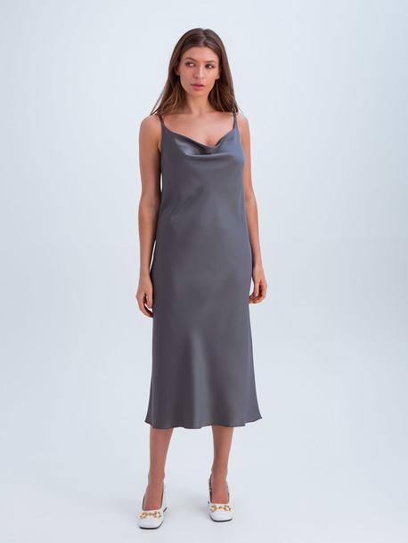 Анели платье графит