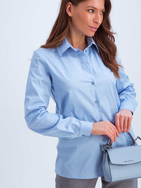 Кэндис рубашка голубой