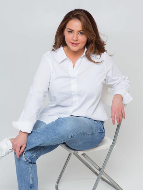 Кэндис TRAND рубашка белый