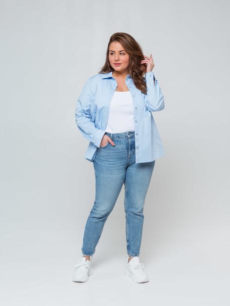 Кэндис TRAND рубашка голубой