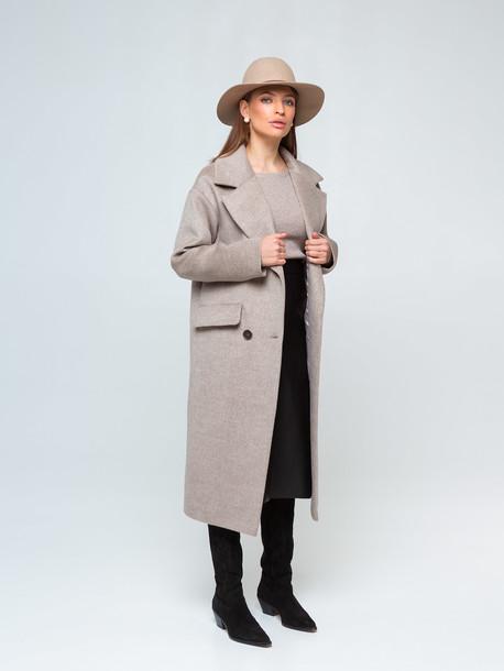 Сиенна пальто бежевый