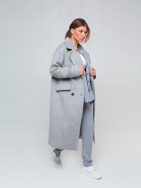 Сиенна пальто серый