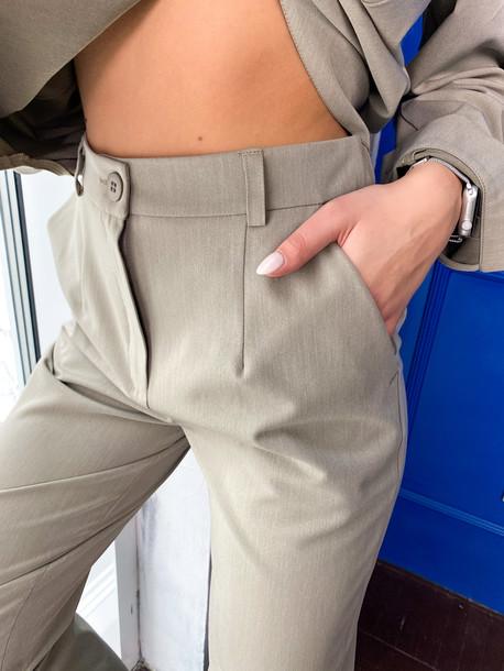 Абби брюки приглушенный хаки