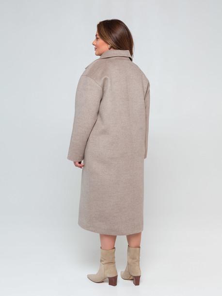 Сиенна TRAND пальто бежевый