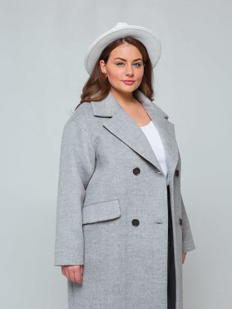 Сиенна TRAND пальто серый