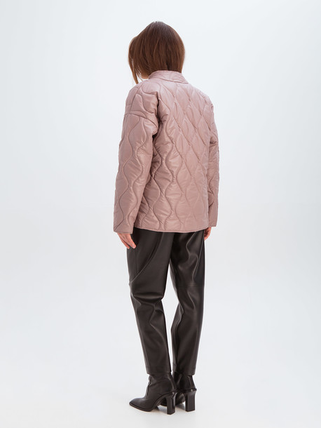 Вира куртка розовый кварц