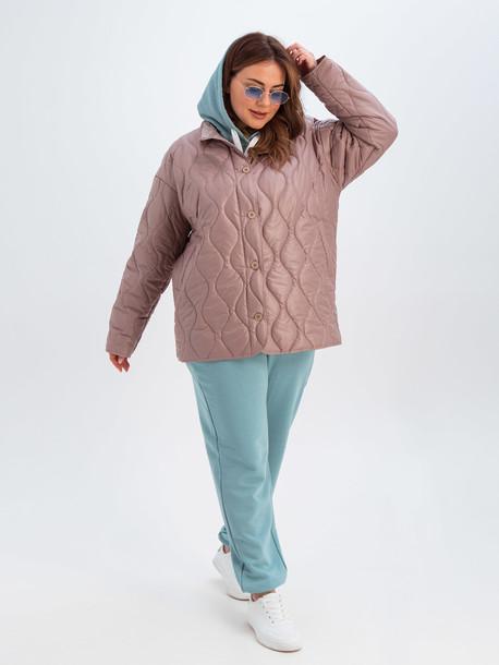 Вира TRAND куртка розовый кварц