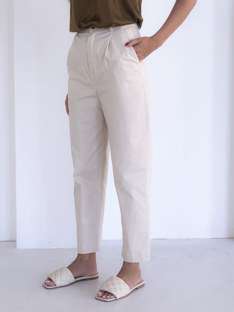 Дарлин брюки топленое молоко