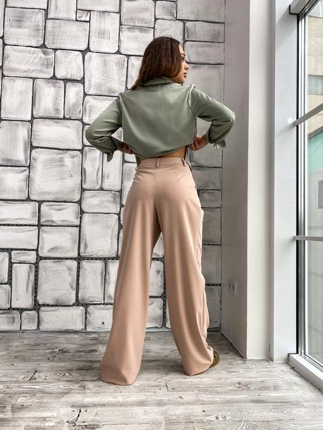 Малу брюки бежевый